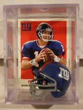 Phil Simms New York Giants Mini Helmet Card Display Collectible Archives QB Auto