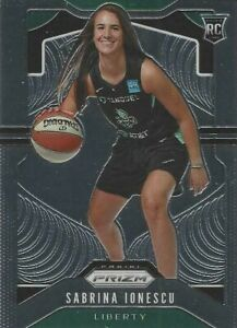 2020 WNBA PANINI PRIZM * SABRINA IONESCU * BASE ROOKIE CARD #89 OREGON / LIBERTY