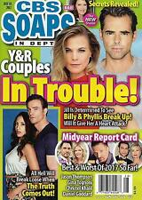 CBS Soaps In Depth Magazine - July 10, 2017 - Best & Worst of the Year So Far!