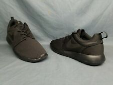 981fc4658f6d Nike Women s Roshe One Running Sneakers Mesh Black Dark Grey Size 10 NWOB!