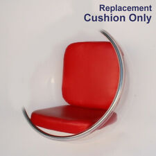 "mid century modern hanging globe egg bubble chair "" replacement red cushion """