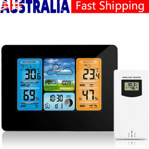 Digital Weather Station Wireless Outdoor Thermometer Weather Forecast Barometer