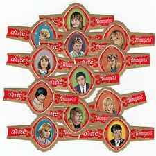 12 cigar bands Arvic Pop Stars As Teenagers Set9