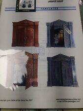 Ornate door free standing card making templates new