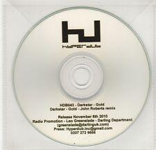 (GI827) Darkstar, Gold - 2010 DJ CD