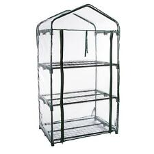 Pure Garden 3-Tier Greenhouse - Outdoor Gardening Hot House with Zippered Cover