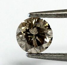 EGL USA loose certified 1ct I1 Q R round diamond 6.14-6.02x4.13mm vintage estate