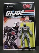 "Custom GI Joe figure and package of ""Techno Battlefront"" SNAKE armor 2.0"