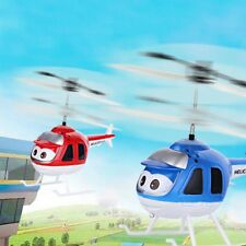 Flying Helicopter plane Hand Sensor Children Toy in BLUE color