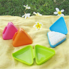 Useful Plastic Triangle Sushi Mold  Onigiri Rice Ball Press Maker Kitchen Tool