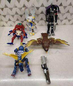 Vintage Transformers Beast Wars figure lot