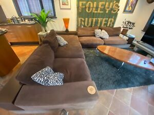 King Furniture Jasper Lounge Sofa with chaise and ottoman