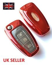FORD REMOTE FIESTA FOCUS TITANIUM TRANSIT FLIP KEY FOB COVER CASE SHELL 4