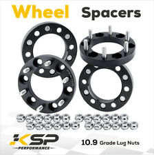 1'' Thick 4X Wheel Spacer Adapters 6X5.5 12x1.5 Fit For GMC Tacoma 4Runner 6 Lug