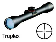 Simmons .22 Mag Rimfire Truplex Reticle 4x32mm Rifle Scope with Rings Black