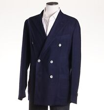 Boglioli Blue Lightweight Wool 'k Jacket' 40 R (eu 50) Sport Coat