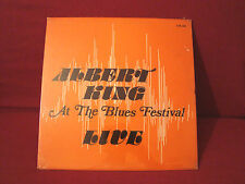 ALBERT KING AT THE BLUES FESTIVAL LIVE VERY RARE SEALED PRIVATE PARRALL LABEL