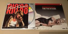 Music Concert Laserdisc Combo: Tina Turner Rio '88; Madonna Truth or Dare
