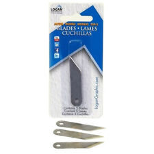 New Replacement Blades for Logan Oval & Circle Mat Cutter - 5pk - Free Shipping