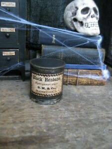 Antique Wood & Tin Spice Box ca. 1860 Primitive Halloween Witch's Pantry