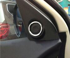 Door Stereo Speaker Cover Trim 2pcs For Mitsubishi ASX Outlander sport 2011-2014