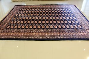 Genuine Hand-Woven Super Bokhara 100% Wool Pile 8.0'x10.0' GREAT DEAL!!!!