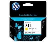 Original & Boxed HP711/CZ136A 3X 29ML Amarillo Cartucho De Tinta-rápidamente publicado!