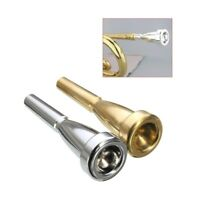 Trumpet Mouthpiece Meg 3C 5C 7C Bach Beginner Musical Accessories Gold Silver