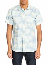 BN MENS QUIKSILVER HUTIA SHORT SLEEVE REG FIT PRINT SHIRT SIZE SMALL CHEST 38""