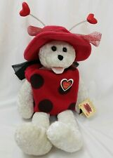 "CHANTILLY LANE MUSICAL SINGING  BEAR  - 22"" LOVE BUGZ"" LADYBUG LADYBIRD"