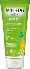 WELEDA Refresh Erfrischungsdusche Citrus - belebendes Naturkosmetik Bio Duschgel