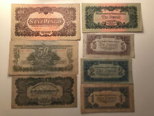 More details for hungary banknotes soviet army invasion & occupation money 1944