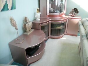Magnificent 5 pc Contemporary Entertainment Unit Made in Italy