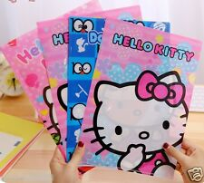 Hello Kitty Clear Folder Holders Stationery Folder 1 set of 2pcs KK192
