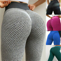 Women Anti-Cellulite Compression Push Up Yoga Pants Fitness Leggings Gym Tik Tok