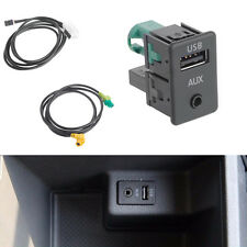 RCD510+310+300+RNS315 AUX USB Switch Cable FIT VW MK6 Golf Jetta CC PASSAT B7 B6