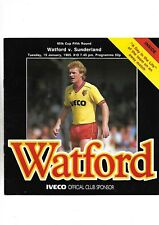 WATFORD V SUNDERLAND 15/01/1985 LEAGUE CUP 5TH ROUND   (6)