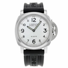 Panerai Luminor 8 Days Acciaio Stainless Steel Hand-Wind Mens Watch PAM00561