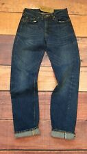 Levi's Vintage LVC 1954 501ZXX Jeans Blue Denim Red Line  Selvedge W28  L34 #78