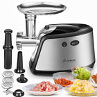 Heavy Duty Electric Meat Grinder & Food Mincer & Sausage Stuffer Stainless Steel photo