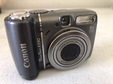 New listing Canon PowerShot A590 dark grey 4X optical zoom