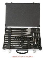 MAKITA Trapano Set scalpelli SDS Plus 17 pezzi in valigetta di trasporto d-42444