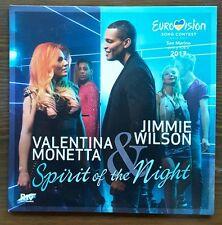 "SAN MARINO EUROVISION 2017  VALENTINA MONETARY &  ""SPIRIT OF THE NIGHT"" PROMO CD"