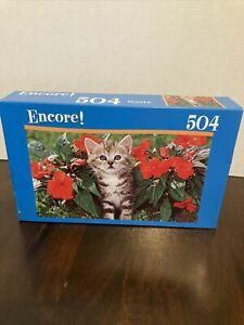 Kitten With Stripes 504 Piece Encore Jigsaw Puzzle 2010