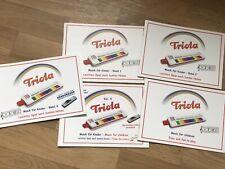 Seydel Komplettes TRIOLA Geschenkpaket mit 5 Liederheften und Tragebeutel