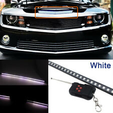 "24"" White 48-SMD Knight Rider Strip Light Under Hood Behind Grille 60CM LED"