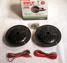 "Pyle 4"" Dual Cone Waterproof Stereo Speaker System Rated 100 W PLMR41B"