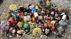 Plush Lot Random Priority Box! Disney, Warner Bros, Peanuts, Cartoons, TY Fun!