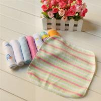 HOT 8Pcs Infant Newborn Baby Soft Bath Towel Washcloth Feeding Wipe Cloth Pad