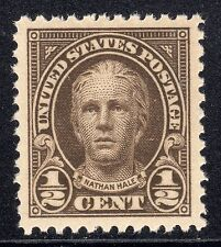 US # 551 (1925) 1/2c-MNH-Grade:XF/S95J w/PSE Cert & EFO: Offset {Nathan's Ghost}